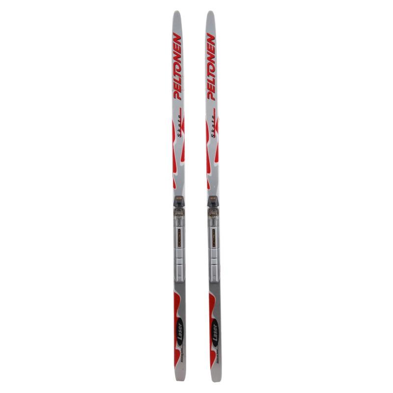 Ski de fond occasion Peltonen Laser Skate qualité A + fixation SNS Profil