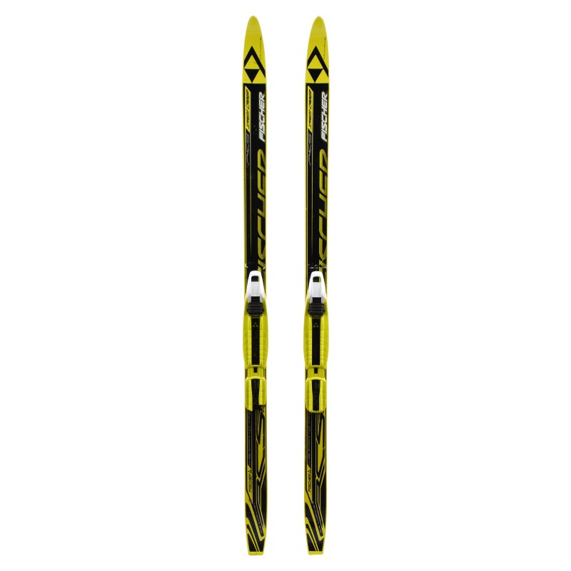 Ski de fond occasion Fischer RCS Sprint Crown Junior + fixation norme NNN