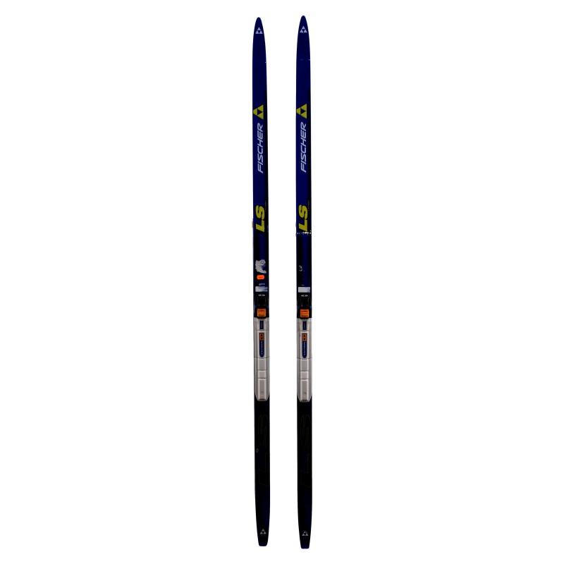 Ski de fond occasion Fischer LS Crown Junior qualité A + fixation norme SNS profil
