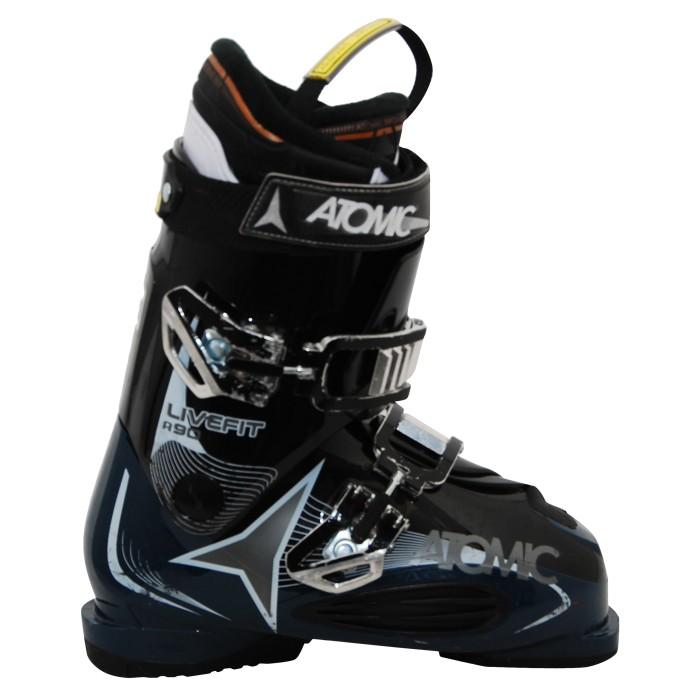 Botas de esquí atomic en vivo usadas R90 negro / azul