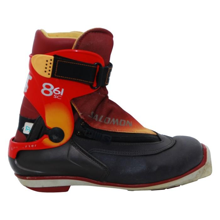 Chaussure de ski de fond Skating occasion Salomon 8.61 SC Skating SNS profil