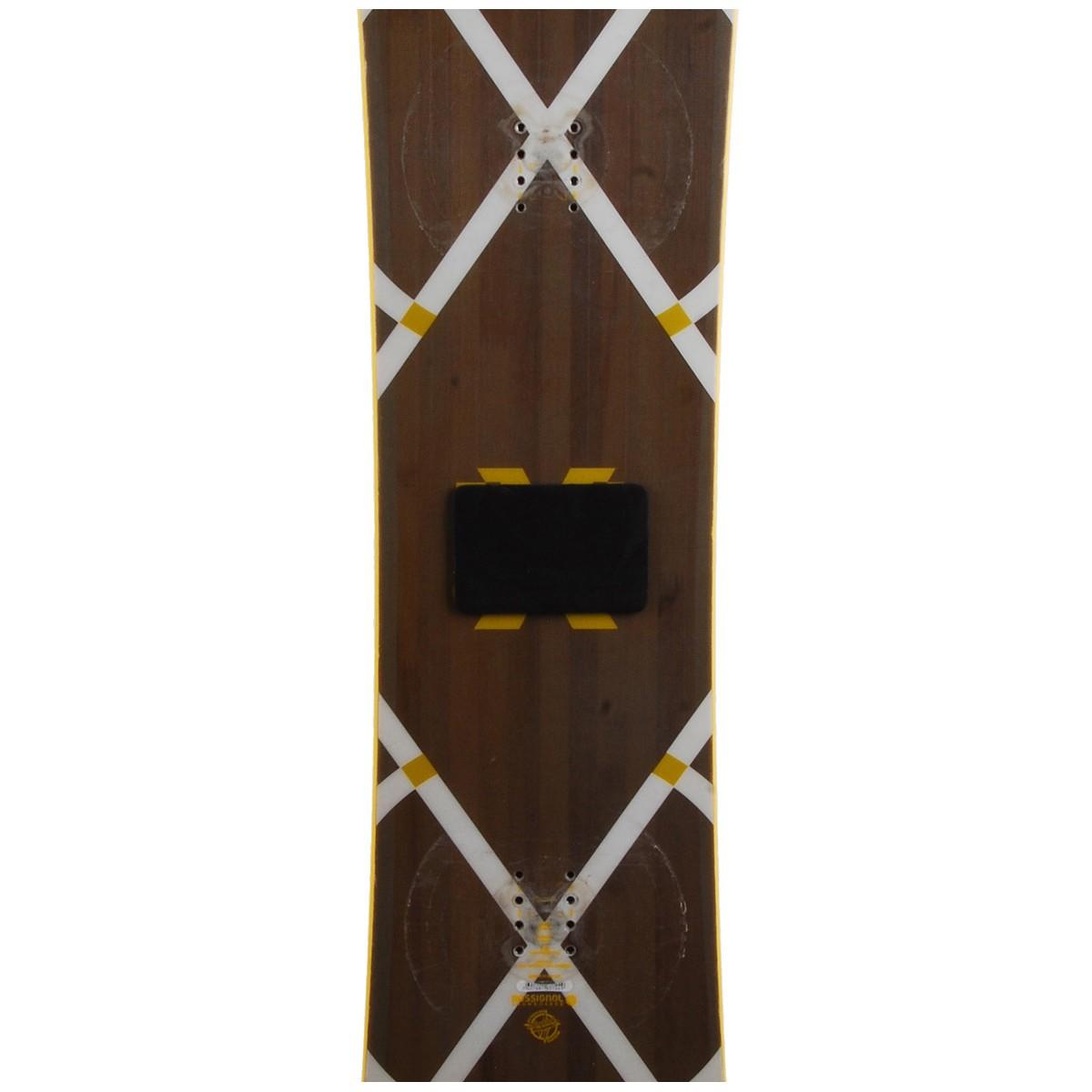 Snowboard-occasion-Rossignol-EXP-fixation-coque miniature 4
