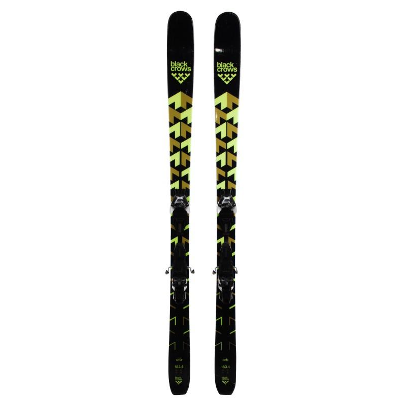 Ski occasion Black Crows ORB qualité A+ fixations