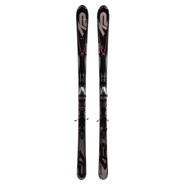 Ski occasion K2 Apache sidewinder + fixations