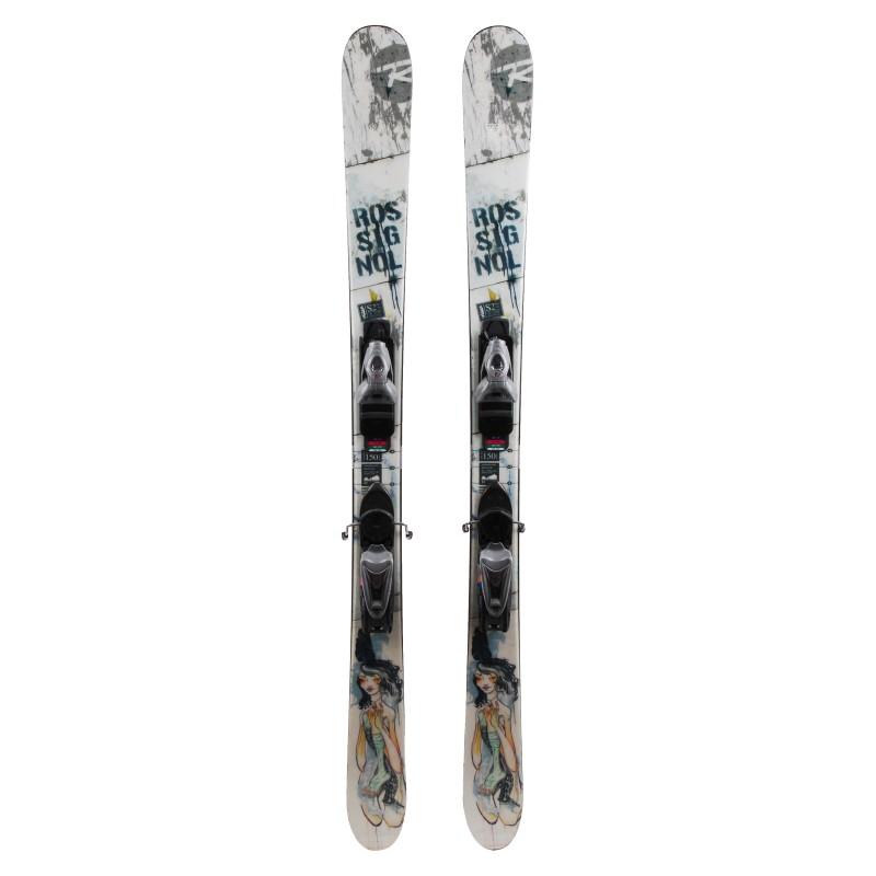 Rossignol S2 Park Pro verwendet Ski + Bindungen