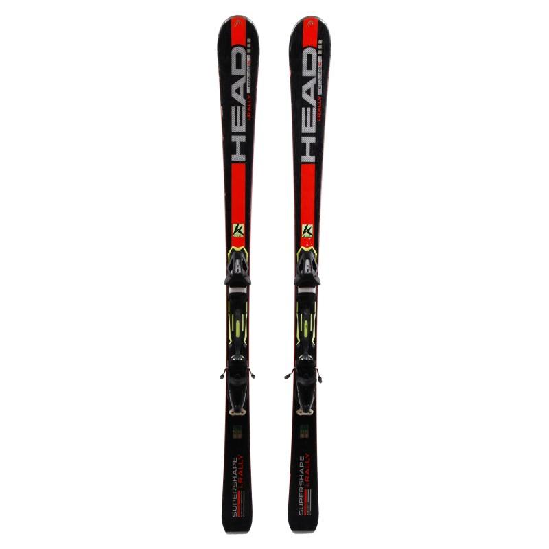 Ski occasion Head Supershape i.Rally Qualité B + fixations