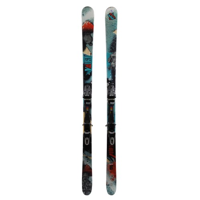 Volkl Alley Usó esquí + fijaciones