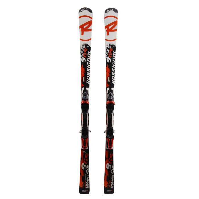 Rossignol Radical 8 GS World Cup snowboard white orange 2nd choice + Binding
