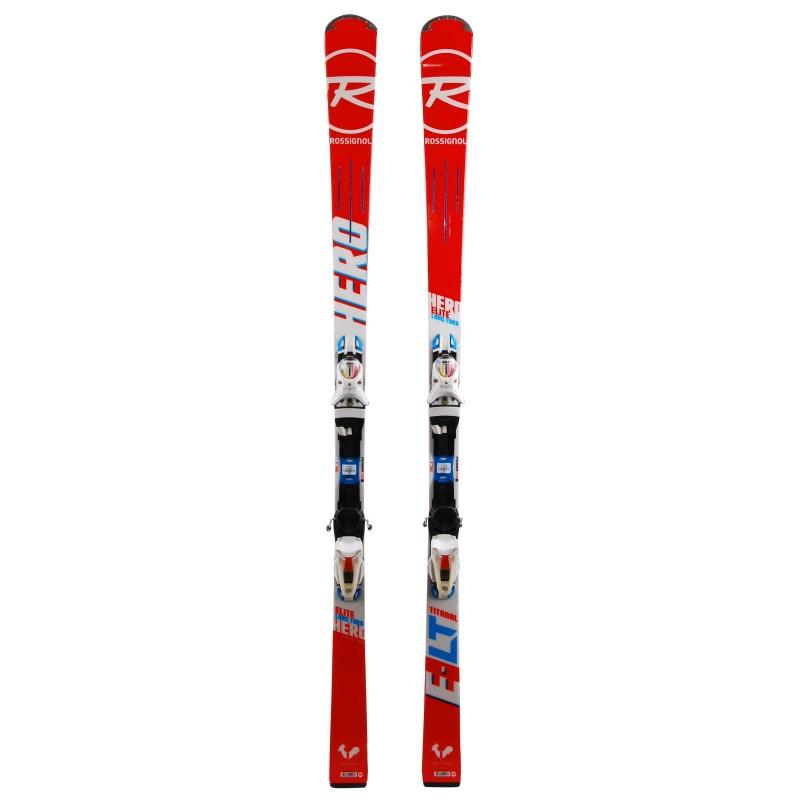 Ski occasion Rossignol Hero Elite LT TI qualité A + fixations
