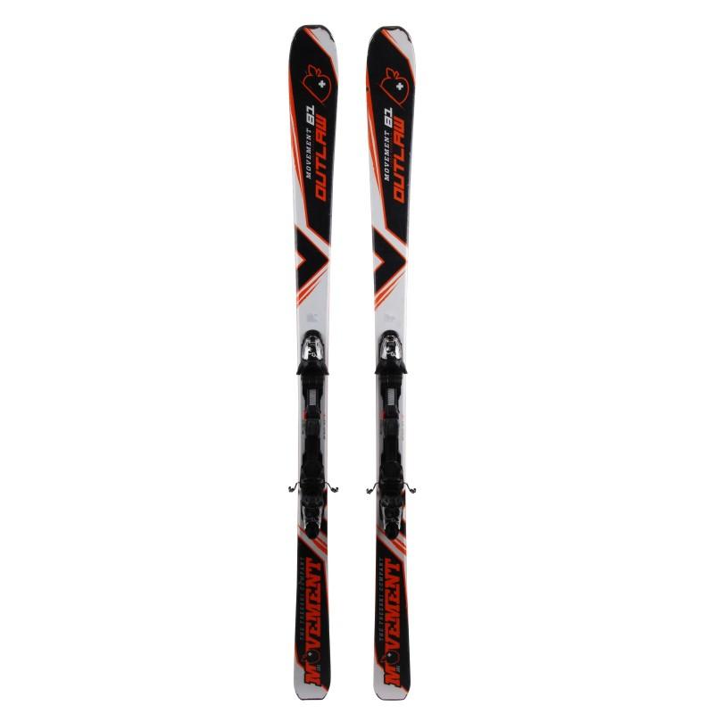 Ski occasion Movement Outlaw Qualité A + fixations