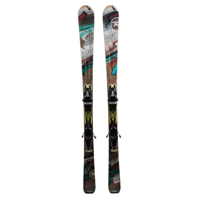 Ski occasion Rossignol Attraxion 8 Echo + fixations