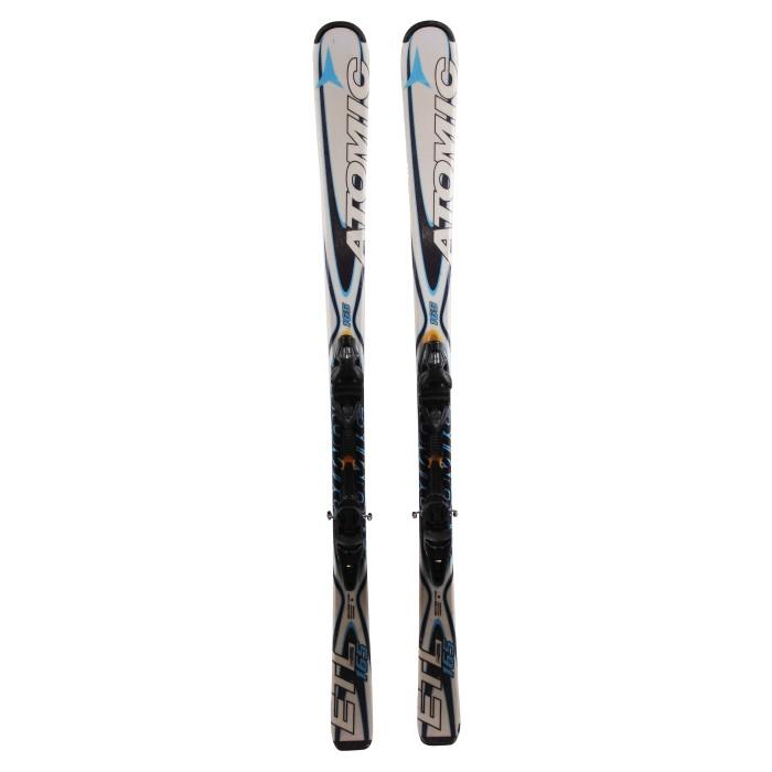 esquí usado Atomic ETL multicolor + fijaciones