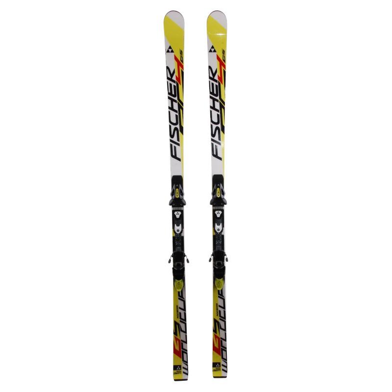 Ski occasion Fischer World Cup GS Qualité B + fixations