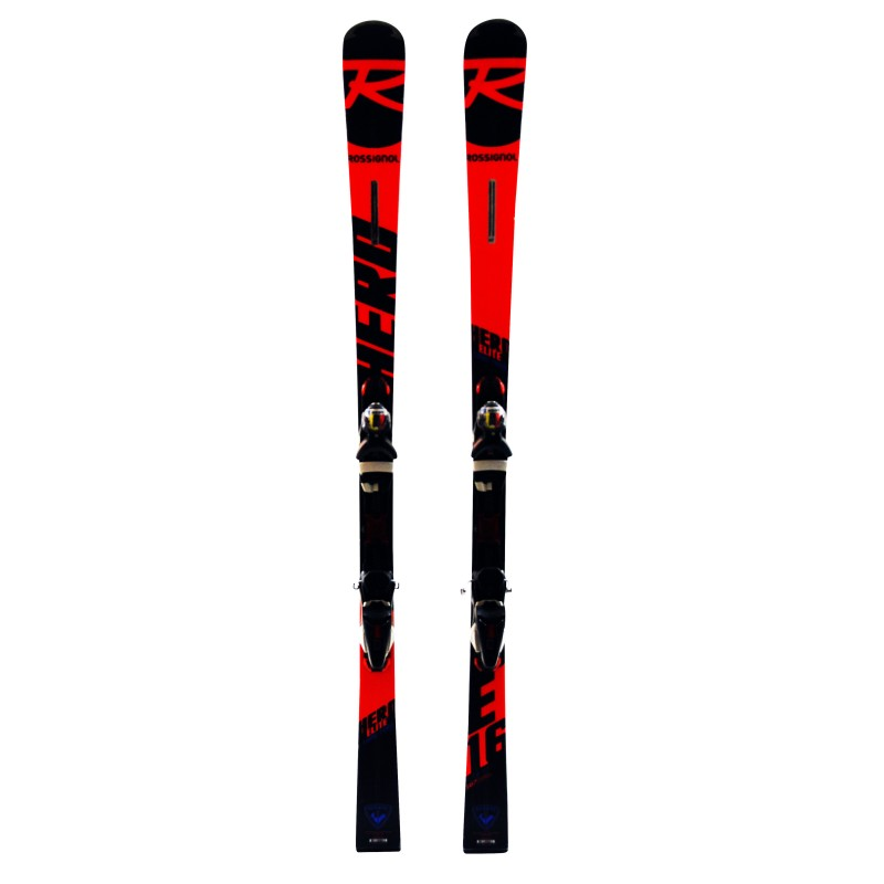 Ski Rossignol Hero Elite LT TI 2019 occasion Qualité A + fixations