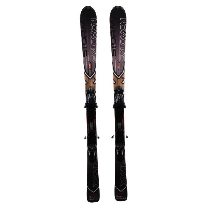 Ski Salomon XW Storm + bindings