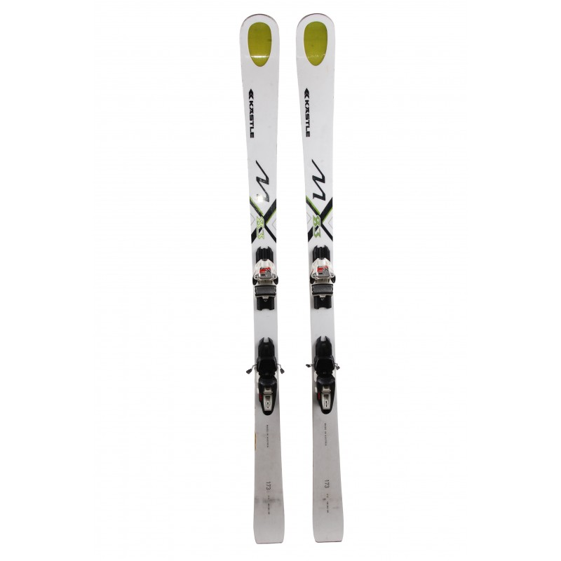 Ski occasion Kastle MX 83 + fixations Qualité B