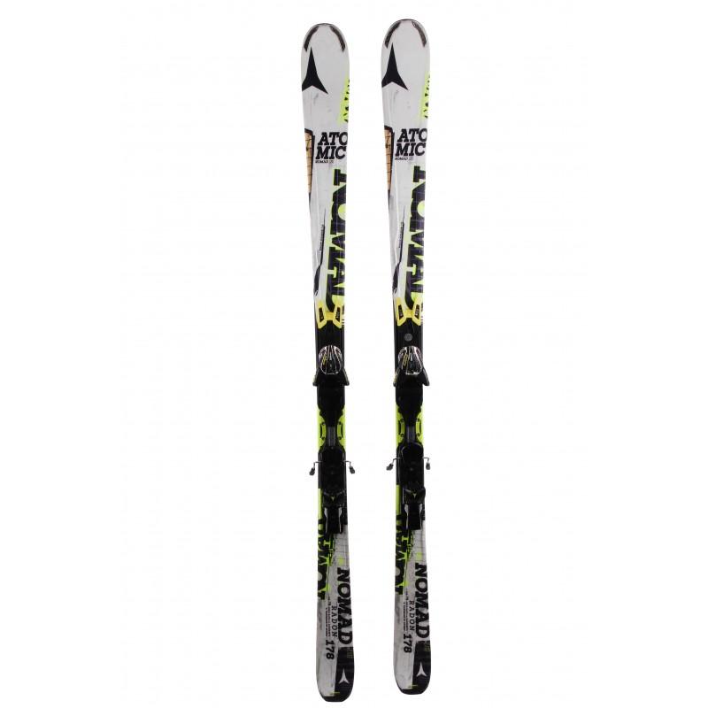 Ski occasion Atomic Nomad S Radon + fixations Qualité A