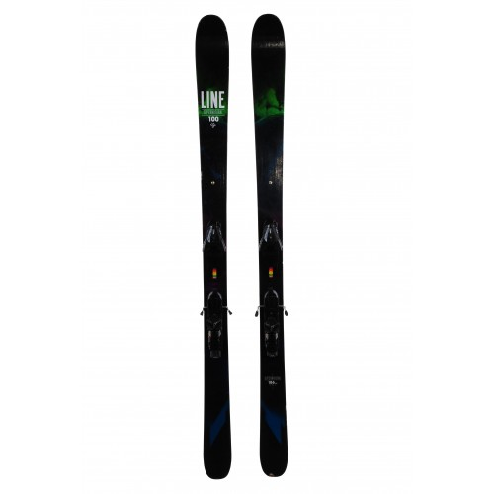 Ski occasion Line Supernatural 100 + fixations