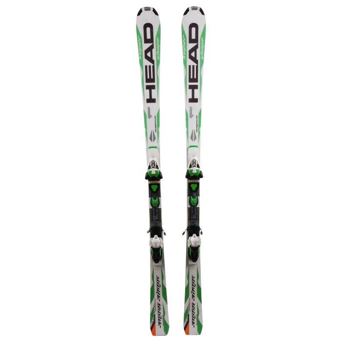 Ocasión de esquí Cabeza super forma magnum - fijaciones
