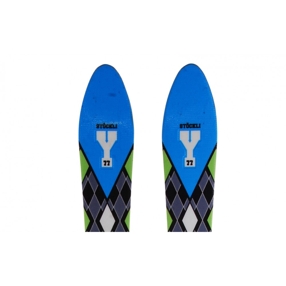 Ski-occasion-Stockli-Y-77-fixations miniature 3