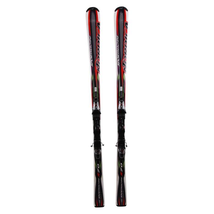 Ski occasion Nordica Sportmachine r70 + fixations