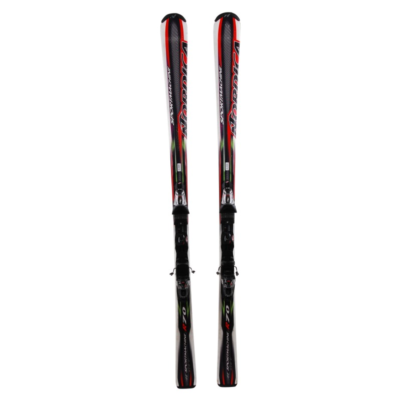 Ski occasion Nordica Sportmachine r70 Qualité A + fixations