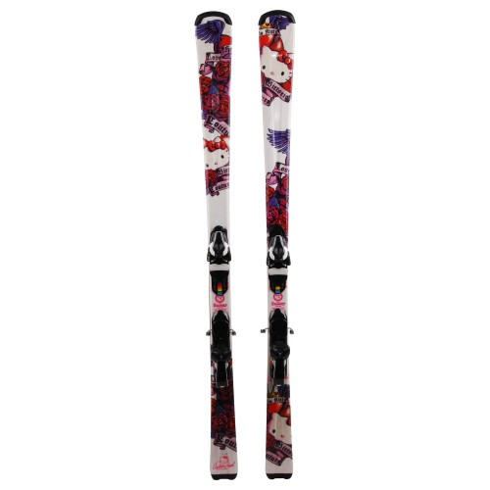 Ski Hello Kitty Victoria Casal Couture + Bindung
