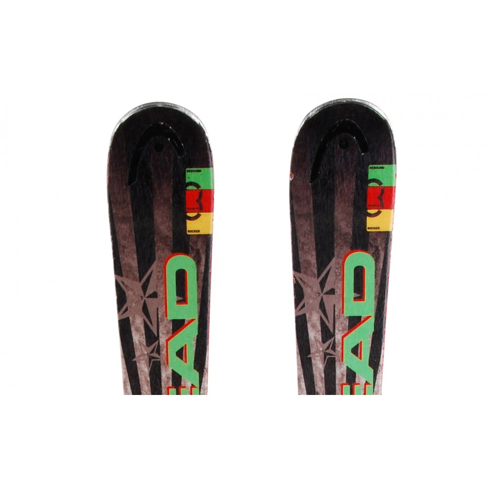 Ski-occasion-Head-Rev-80-pro-fixations miniature 3