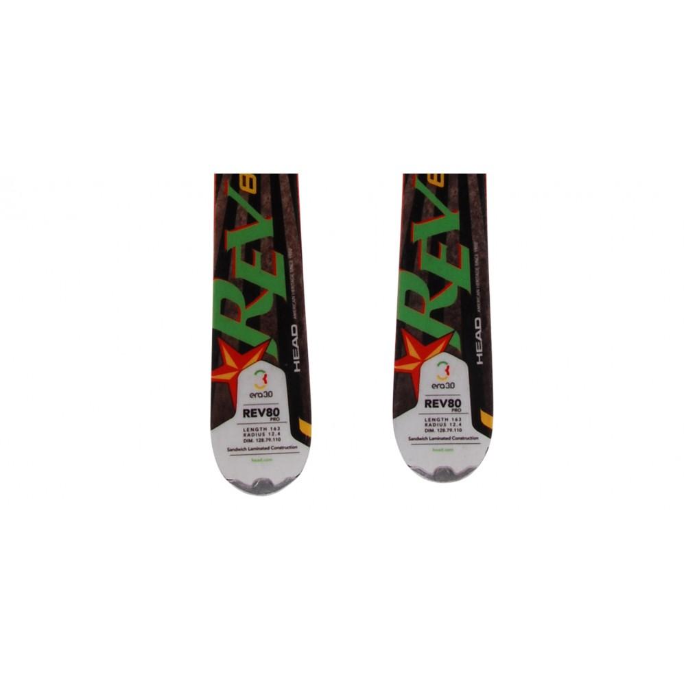 Ski-occasion-Head-Rev-80-pro-fixations miniature 5
