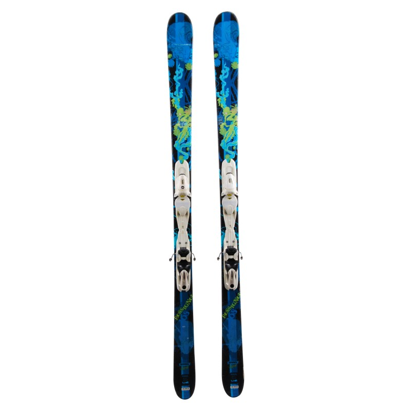 Ski occasion Rossignol S1 Howell + fixations Qualité A