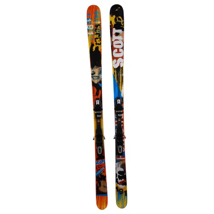 Gebrauchte Scott Punisher Ski + Befestigungen