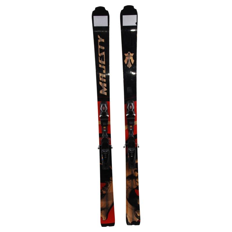 Ski occasion Majesty Wolf + fixation
