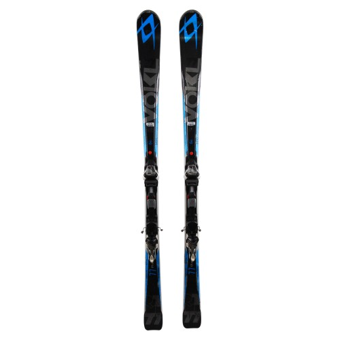 Gebrauchte Skier Volkl RTM 77 + Befestigungen