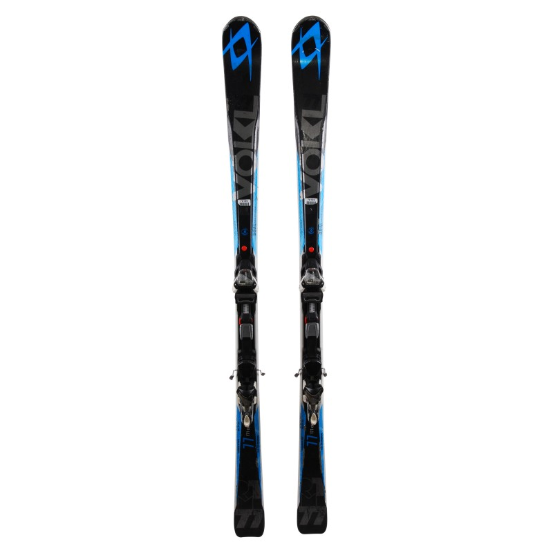 Ski occasion Volkl RTM 77 qualité C + fixations