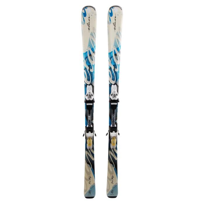 Gebrauchte Elan Pure Magic Ski + Befestigungen