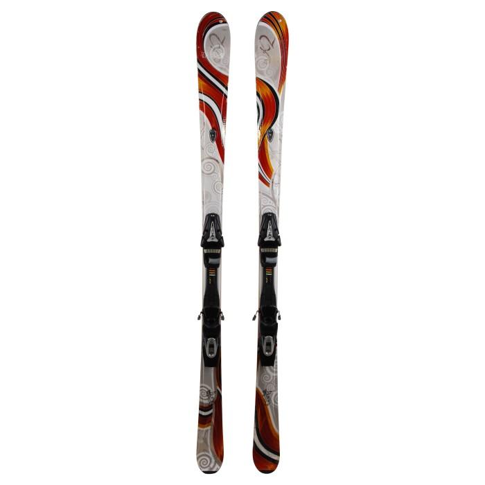 Esquí K2 burnin + fijaciones
