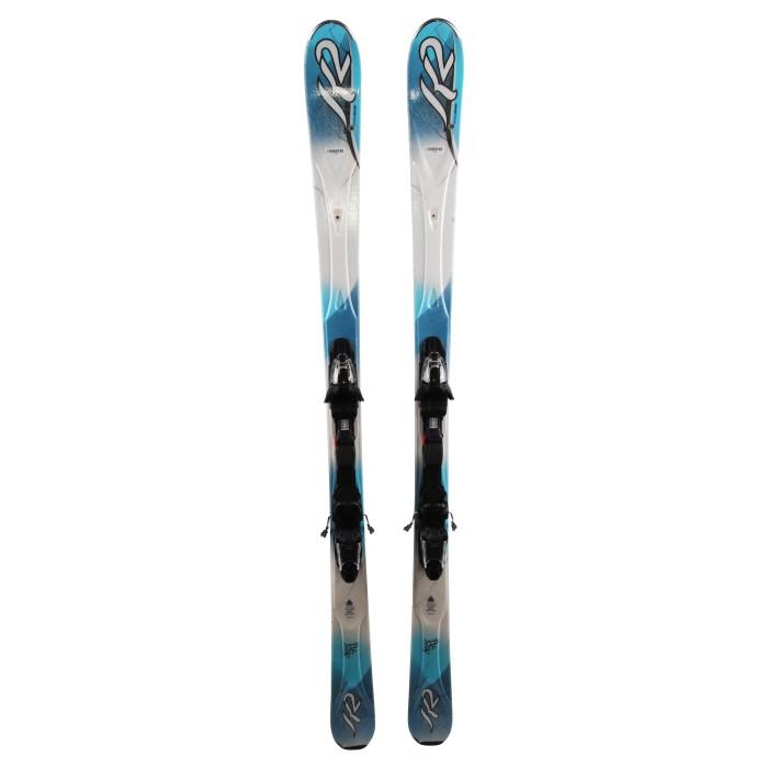Esquí K2 Super RX + fijaciones