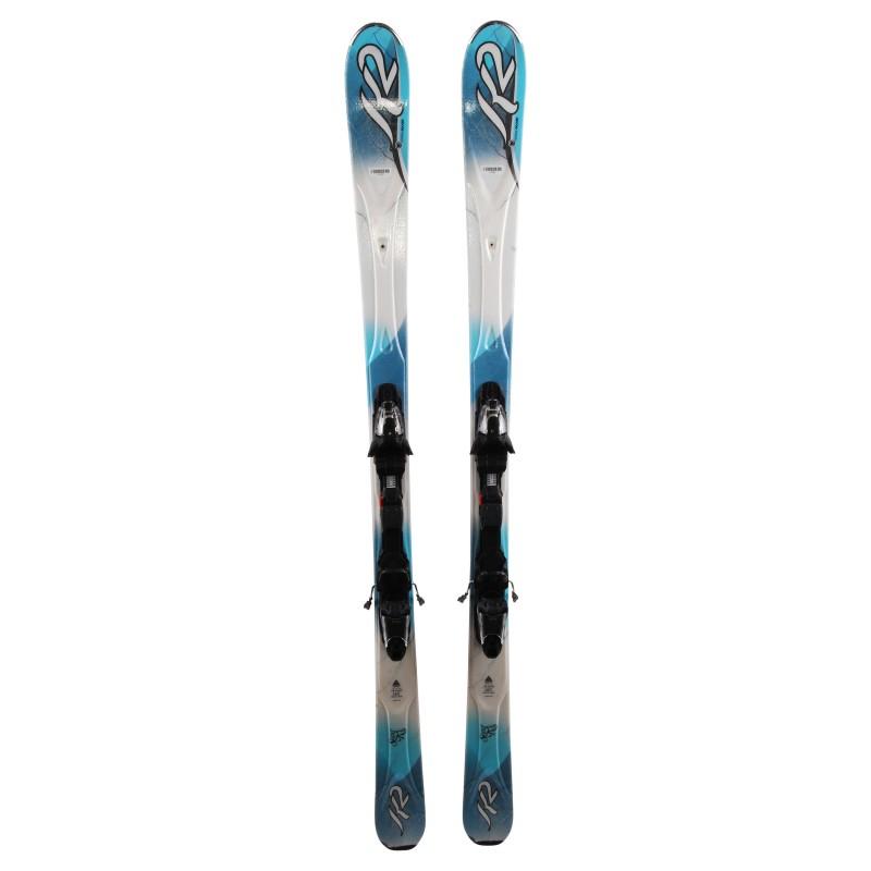 fijaciones Ski K2 Super RX + Modelo específico para mujer
