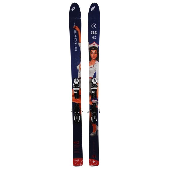 Ski occasion Zag H112 + fixations