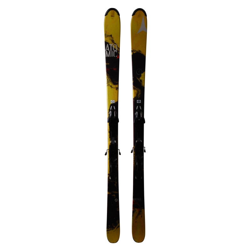 Gebrauchter Atomic Vantage Rival Series Ski + Bindungen