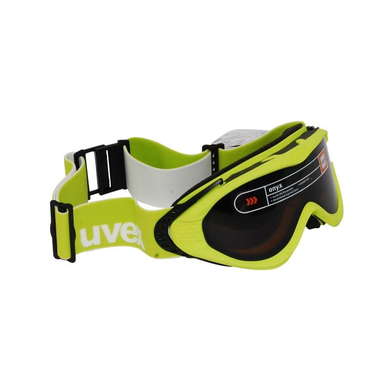 Masque ski Uvex Onyx vert