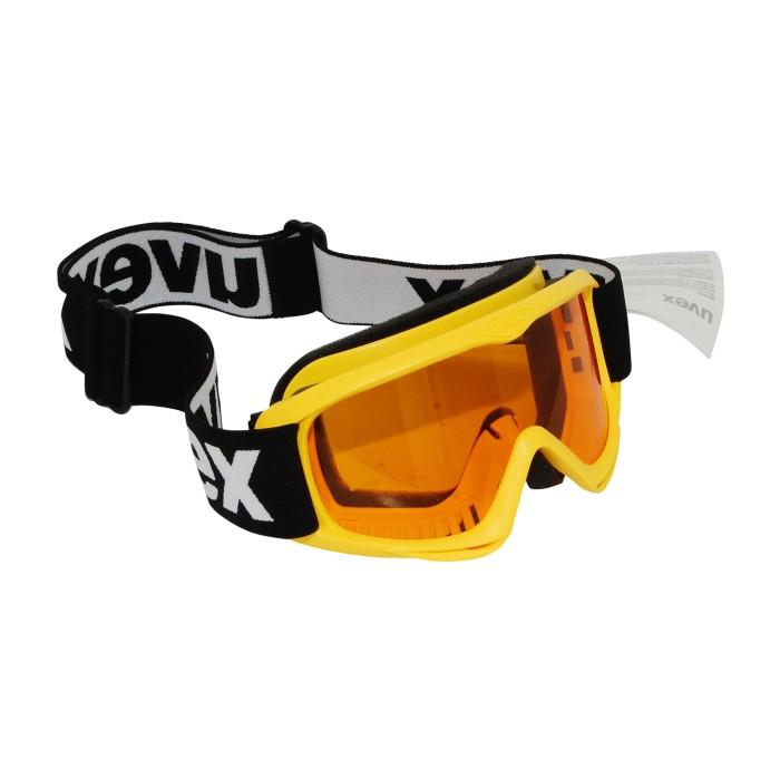 Uvex Skihelm rot / gelb
