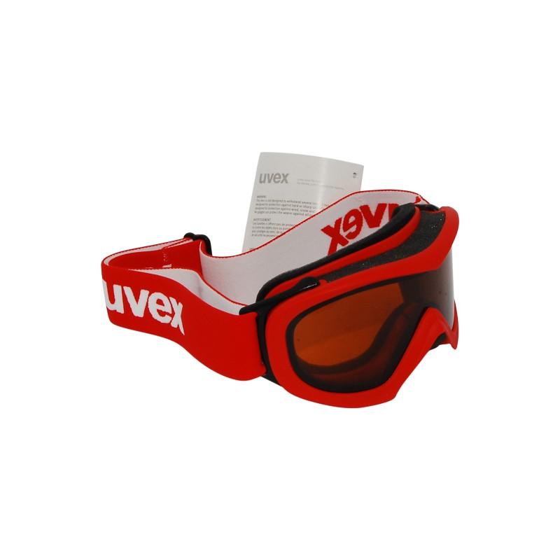 Masque ski Uvex Wizzard DL rouge