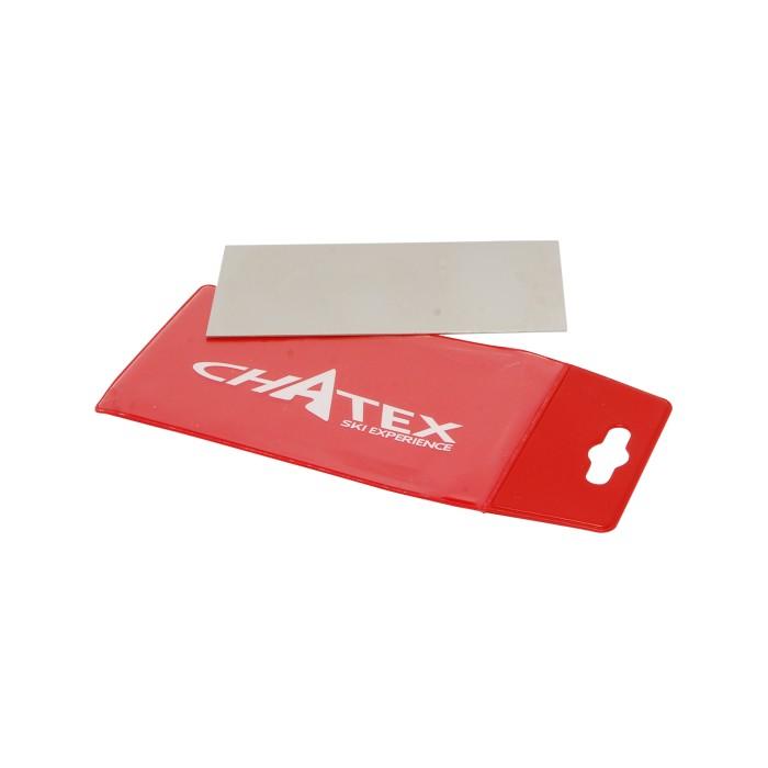 Chatex usó rascador de plástico
