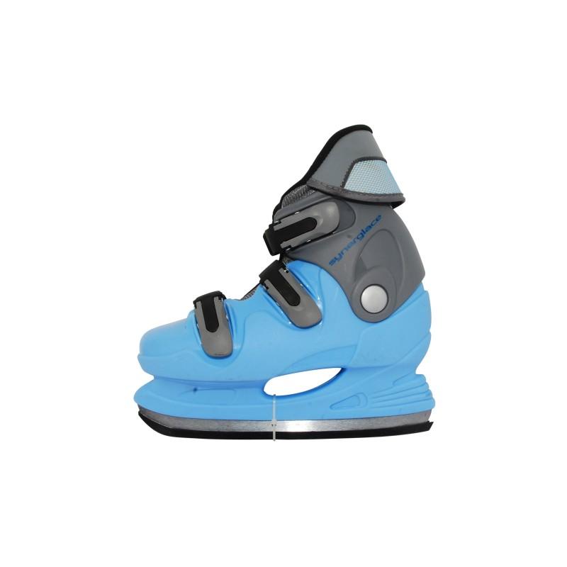 Patin à glace junior occasion bleu