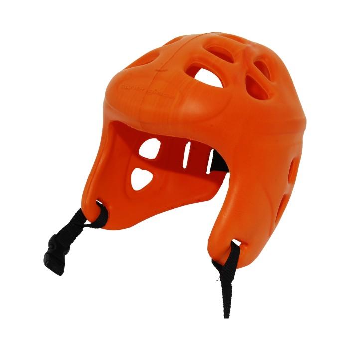 casque junior occasion patin à glace orange