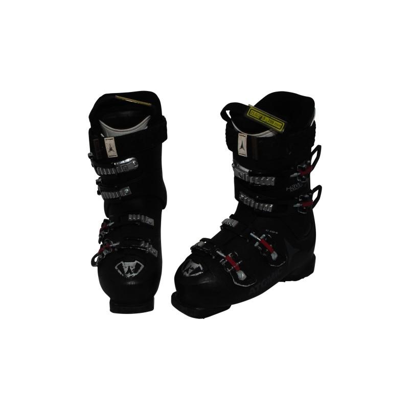Chaussures de ski occasion Atomic hawx magna R80W noir rose qualité A