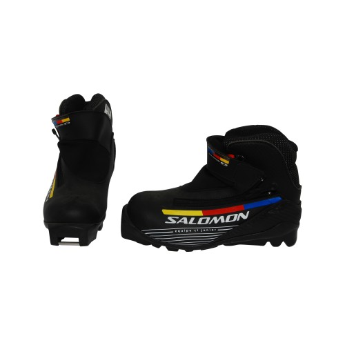 Chaussure ski fond occasion Salomon Equipe CL junior