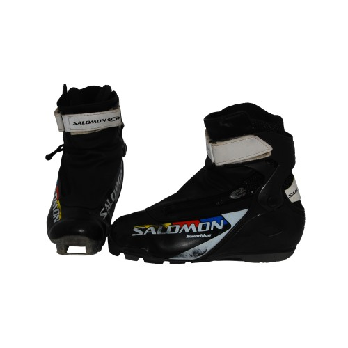 Chaussure ski fond occasion junior Salomon Skiathlon