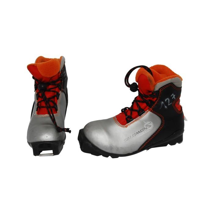 Schuh Ski-Hintergrund Gelegenheit Salomon Junior classic